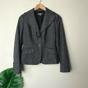 Ann Taylor | Wool 2 Button Suit Jacket Blazer 0